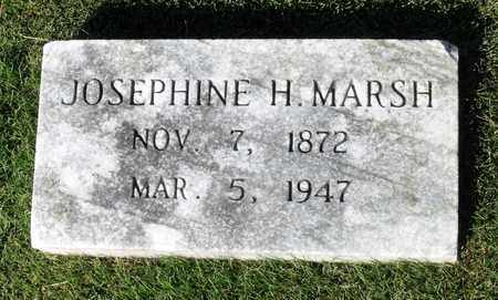 MARSH, JOSEPHINE H. - Northumberland County, Virginia   JOSEPHINE H. MARSH - Virginia Gravestone Photos