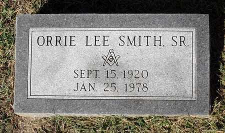SMITH, ORRIE LEE SR. - Northumberland County, Virginia   ORRIE LEE SR. SMITH - Virginia Gravestone Photos