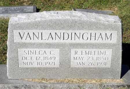 VANLANDINGHAM, R. EMELINE - Northumberland County, Virginia | R. EMELINE VANLANDINGHAM - Virginia Gravestone Photos