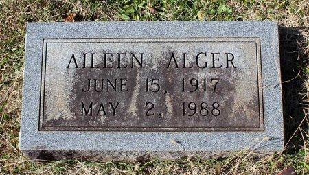 ALGER, AILEEN - Orange County, Virginia | AILEEN ALGER - Virginia Gravestone Photos