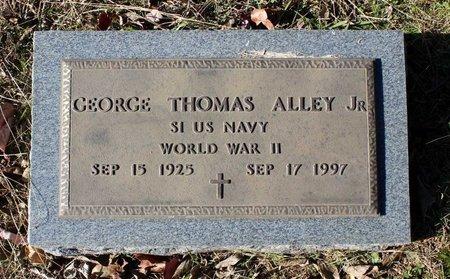 ALLEY, GEORGE THOMAS JR. - Orange County, Virginia | GEORGE THOMAS JR. ALLEY - Virginia Gravestone Photos