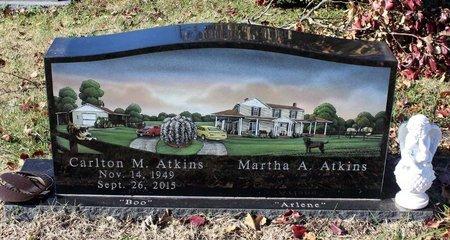 ATKINS, CARLTON M. - Orange County, Virginia | CARLTON M. ATKINS - Virginia Gravestone Photos