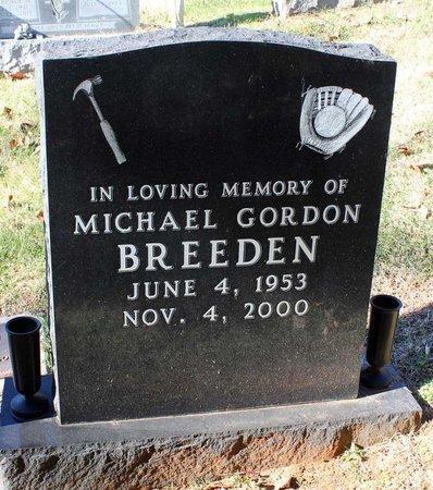 BREEDEN, MICHAEL GORDON - Orange County, Virginia | MICHAEL GORDON BREEDEN - Virginia Gravestone Photos