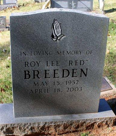 BREEDEN, ROY LEE - Orange County, Virginia   ROY LEE BREEDEN - Virginia Gravestone Photos