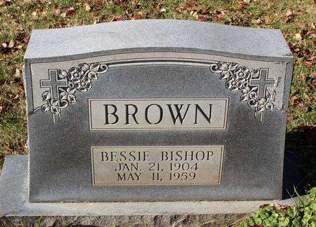 BISHOP BROWN, BESSIE - Orange County, Virginia   BESSIE BISHOP BROWN - Virginia Gravestone Photos