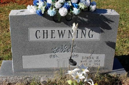 CHEWNING, DONNA H. - Orange County, Virginia | DONNA H. CHEWNING - Virginia Gravestone Photos