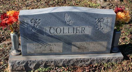 COLLIER, BLANCHE MARIE - Orange County, Virginia | BLANCHE MARIE COLLIER - Virginia Gravestone Photos
