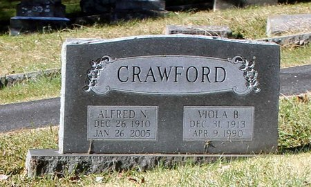 CRAWFORD, VIOLA B. - Orange County, Virginia | VIOLA B. CRAWFORD - Virginia Gravestone Photos