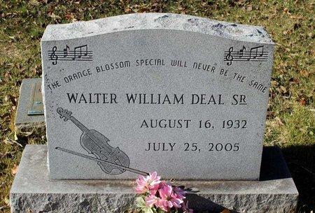 DEAL, WALTER WILLIAM SR. - Orange County, Virginia   WALTER WILLIAM SR. DEAL - Virginia Gravestone Photos