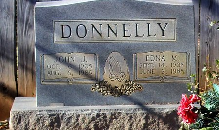 DONNELLY, EDNA M. - Orange County, Virginia | EDNA M. DONNELLY - Virginia Gravestone Photos