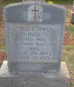 OWNE HALL, GRACE - Orange County, Virginia | GRACE OWNE HALL - Virginia Gravestone Photos