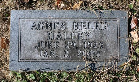 HALLEY, AGNES HELEN - Orange County, Virginia | AGNES HELEN HALLEY - Virginia Gravestone Photos
