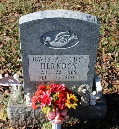 HERNDON, DAVIS A. - Orange County, Virginia   DAVIS A. HERNDON - Virginia Gravestone Photos
