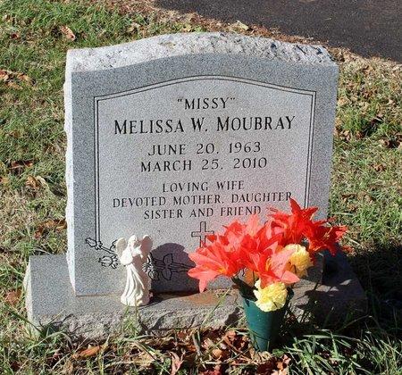 MOUBRAY, MELISSA W. - Orange County, Virginia   MELISSA W. MOUBRAY - Virginia Gravestone Photos