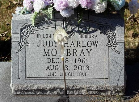 HARLOW MOURBRAY, JUDY - Orange County, Virginia | JUDY HARLOW MOURBRAY - Virginia Gravestone Photos
