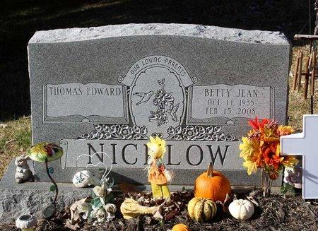 NICKLOW, BETTY JEAN - Orange County, Virginia | BETTY JEAN NICKLOW - Virginia Gravestone Photos