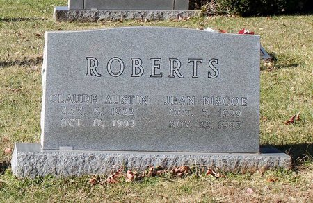 BISCOE ROBERTS, JEAN - Orange County, Virginia | JEAN BISCOE ROBERTS - Virginia Gravestone Photos