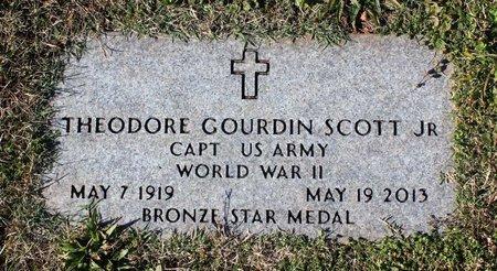 SCOTT, THEODORE GOURDIN JR. - Orange County, Virginia | THEODORE GOURDIN JR. SCOTT - Virginia Gravestone Photos
