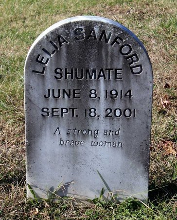 SHUMATE, LELIA - Orange County, Virginia | LELIA SHUMATE - Virginia Gravestone Photos