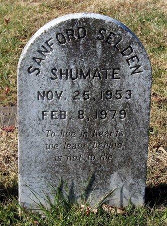 SHUMATE, SANFORD SELDEN - Orange County, Virginia | SANFORD SELDEN SHUMATE - Virginia Gravestone Photos