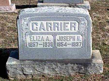 CARRIER, ELIZA A. - Page County, Virginia | ELIZA A. CARRIER - Virginia Gravestone Photos