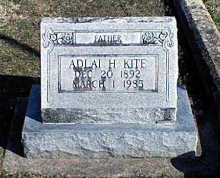 KITE, ADLAI H. - Page County, Virginia | ADLAI H. KITE - Virginia Gravestone Photos