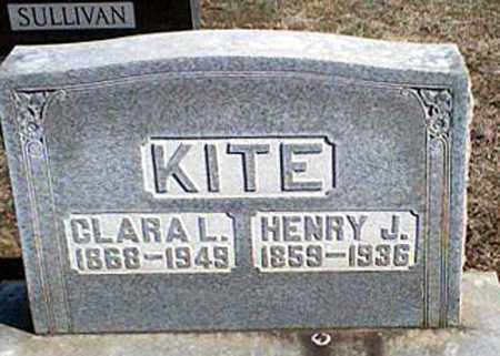 KITE, CLARA L. - Page County, Virginia | CLARA L. KITE - Virginia Gravestone Photos
