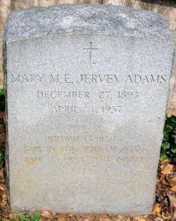 ADAMS, MARY M. E. - Powhatan County, Virginia | MARY M. E. ADAMS - Virginia Gravestone Photos