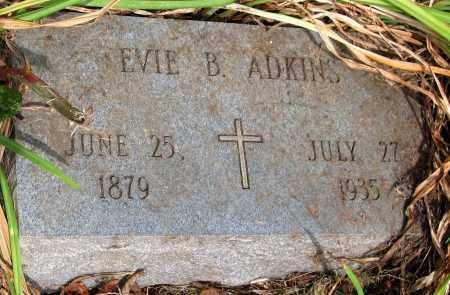ADKINS, EVIE B. - Powhatan County, Virginia | EVIE B. ADKINS - Virginia Gravestone Photos