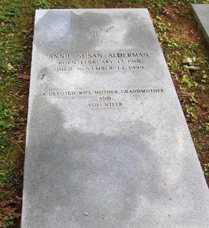 ALDERMAN, ANNIE SUSAN - Powhatan County, Virginia   ANNIE SUSAN ALDERMAN - Virginia Gravestone Photos