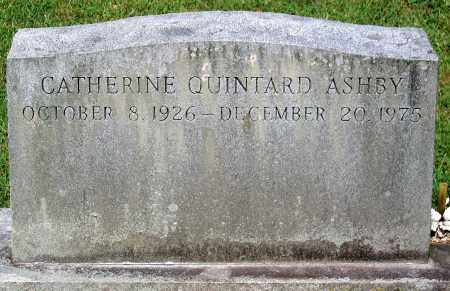 ASHBY, CATHERINE QUINTARD - Powhatan County, Virginia   CATHERINE QUINTARD ASHBY - Virginia Gravestone Photos