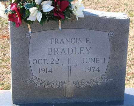 BRADLEY, FRANCIS E. - Powhatan County, Virginia | FRANCIS E. BRADLEY - Virginia Gravestone Photos