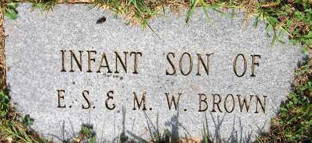 BROWN, INFANT - Powhatan County, Virginia | INFANT BROWN - Virginia Gravestone Photos