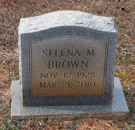BROWN, SELENA M. - Powhatan County, Virginia | SELENA M. BROWN - Virginia Gravestone Photos