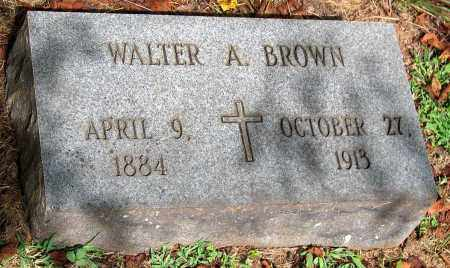 BROWN, WALTER A. - Powhatan County, Virginia | WALTER A. BROWN - Virginia Gravestone Photos