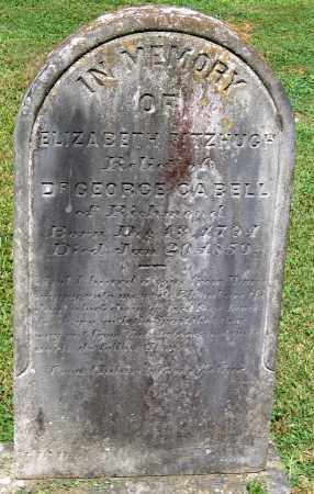 CABELL, ELIZABETH FITZHUGH - Powhatan County, Virginia | ELIZABETH FITZHUGH CABELL - Virginia Gravestone Photos