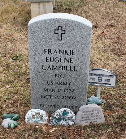 CAMPBELL, FRANKIE EUGENE - Powhatan County, Virginia   FRANKIE EUGENE CAMPBELL - Virginia Gravestone Photos