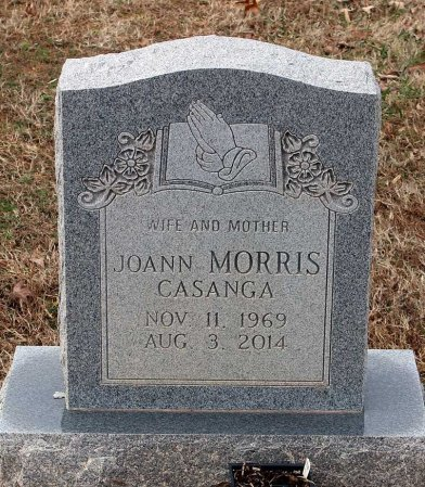 MORRIS CASANGA, JOANN  - Powhatan County, Virginia | JOANN  MORRIS CASANGA - Virginia Gravestone Photos