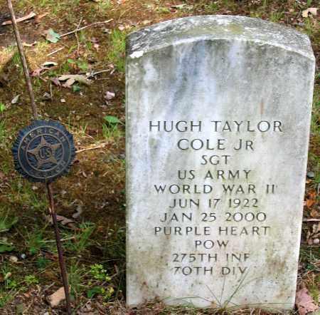 COLE, HUGH TAYLOR JR. - Powhatan County, Virginia | HUGH TAYLOR JR. COLE - Virginia Gravestone Photos