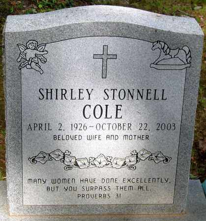 COLE, SHIRLEY STONNELL - Powhatan County, Virginia | SHIRLEY STONNELL COLE - Virginia Gravestone Photos