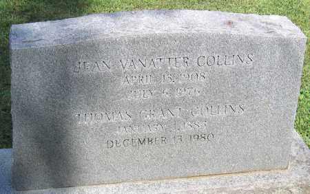 COLLINS, THOMAS GRANT - Powhatan County, Virginia | THOMAS GRANT COLLINS - Virginia Gravestone Photos