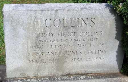 COLLINS, LEROY PIERCE - Powhatan County, Virginia   LEROY PIERCE COLLINS - Virginia Gravestone Photos