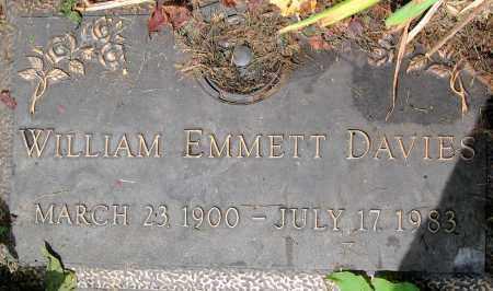 DAVIES, WILLIAM EMMETT - Powhatan County, Virginia | WILLIAM EMMETT DAVIES - Virginia Gravestone Photos