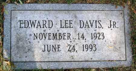 DAVIS, EDWARD LEE JR. - Powhatan County, Virginia | EDWARD LEE JR. DAVIS - Virginia Gravestone Photos