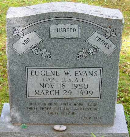 EVANS, EUGENE W. - Powhatan County, Virginia | EUGENE W. EVANS - Virginia Gravestone Photos
