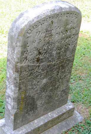 FINNEY, ELIZABETH RANDOLPH - Powhatan County, Virginia   ELIZABETH RANDOLPH FINNEY - Virginia Gravestone Photos