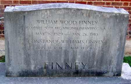 FINNEY, WILLIAM WOOD - Powhatan County, Virginia | WILLIAM WOOD FINNEY - Virginia Gravestone Photos