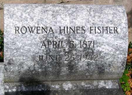 FISHER, ROWENDA HINES - Powhatan County, Virginia | ROWENDA HINES FISHER - Virginia Gravestone Photos