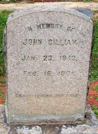 GILLIAM, JOHN - Powhatan County, Virginia | JOHN GILLIAM - Virginia Gravestone Photos