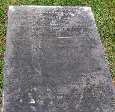 JAMES GILLIAM, MARY JEFFERSON - Powhatan County, Virginia | MARY JEFFERSON JAMES GILLIAM - Virginia Gravestone Photos